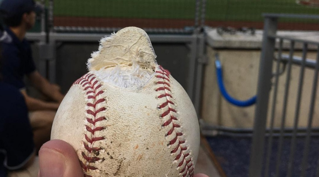 Bryce Harper's Broken Ball Isn't That Impressive